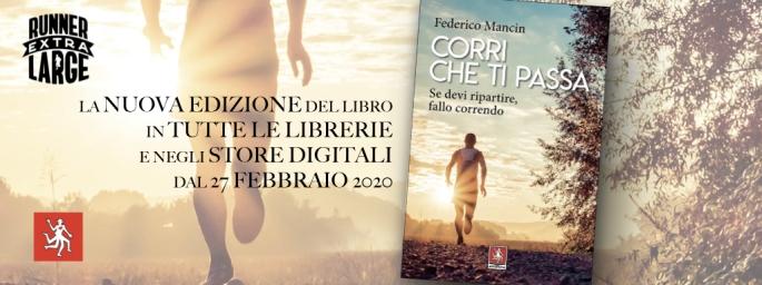 Corri che ti passa è in tutte le librerie e negli store digitali dal 27 febbraio 2020
