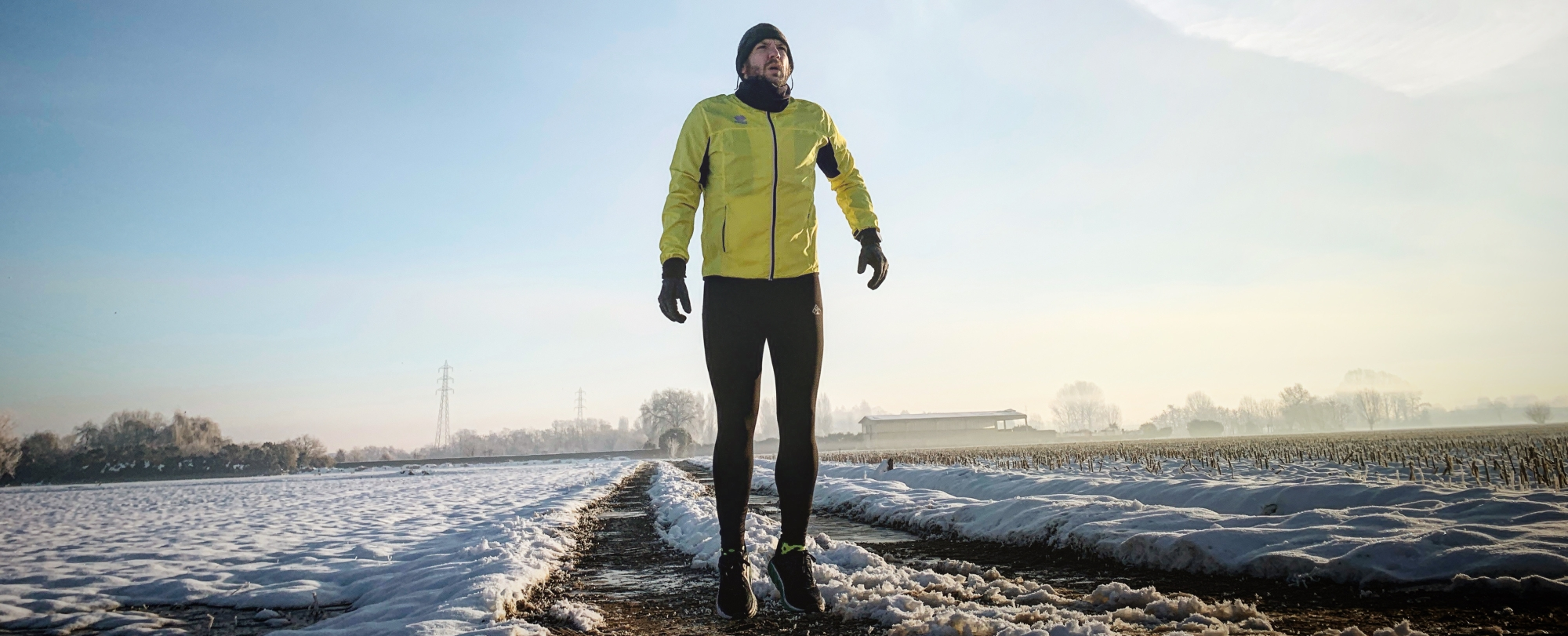 Runner Extralarge nella neve